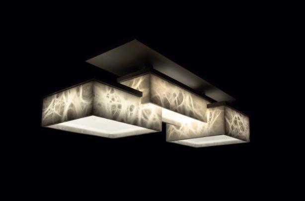 bespoke lights: alabaster top