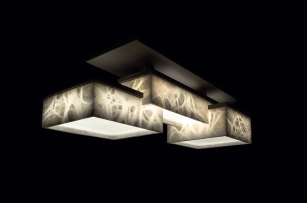 bespoke lights: alabaster top