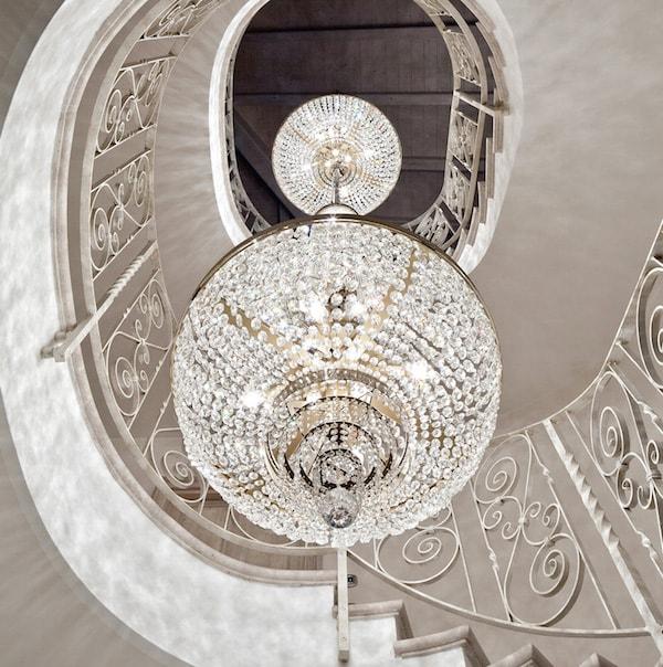 bespoke lights: chandelier