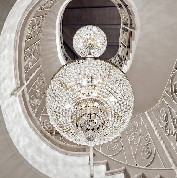 bespoke lights: chandelier