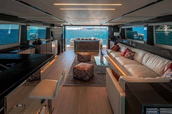furniture yacht