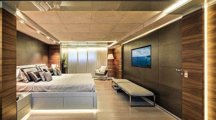 quanto costa uno yacht cabina padronale