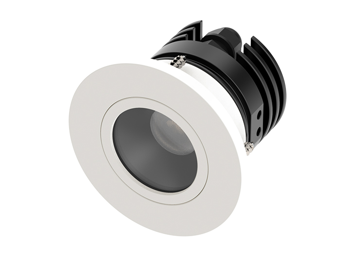 Cantalupi Lighting – STEEL 6 R SC AG – RAL9010