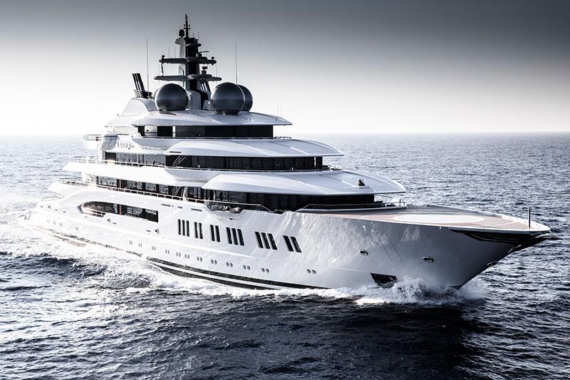 Amadea Yacht cover intro